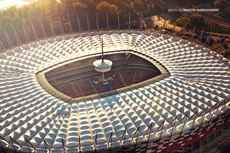 dach,stadionu narodowego
