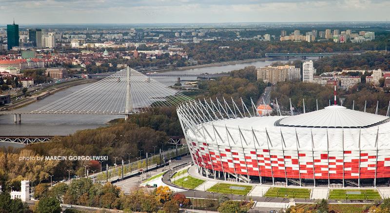 stadion narodowy,most swietokrzyski