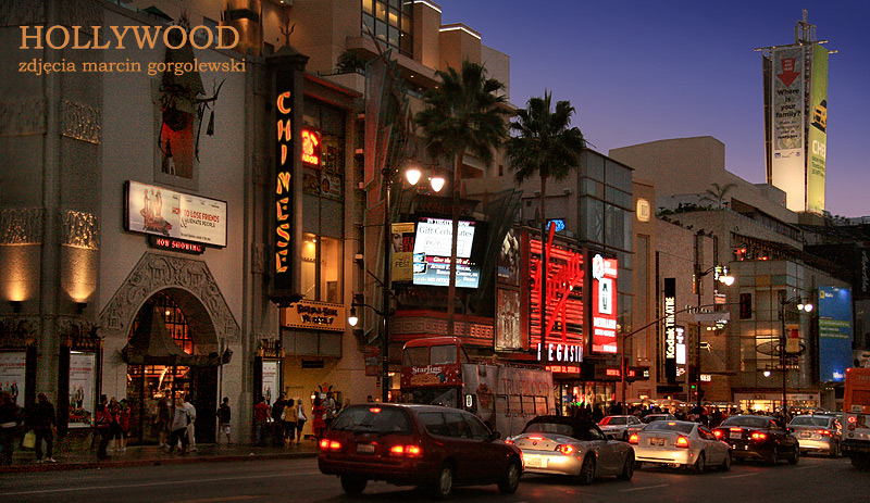 hollywood bulwar