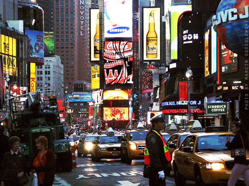 New York City Nowy Jork Broadway Fotogaleria